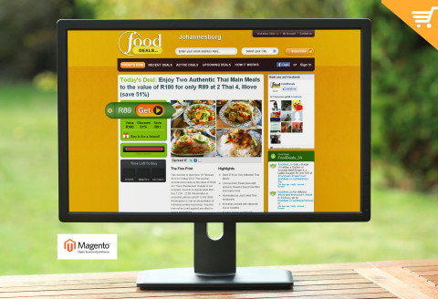 Food Deals - Group Buying Website