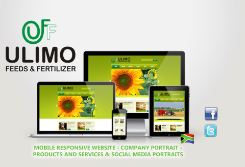 Ulimo - Mobile responsive Website
