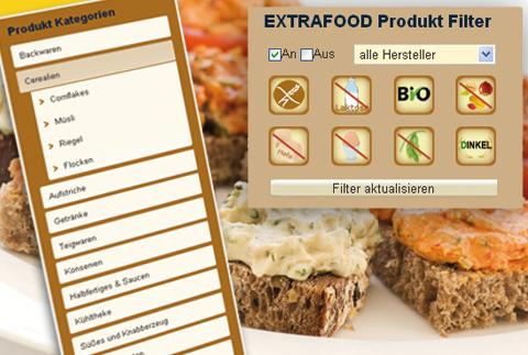EXTRAFOOD.de -Online Store