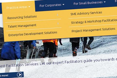 Mindvest Corporate Website