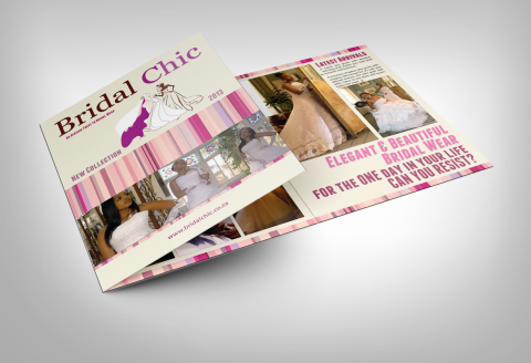 Tri-Fold Brochure - Bridal Chic