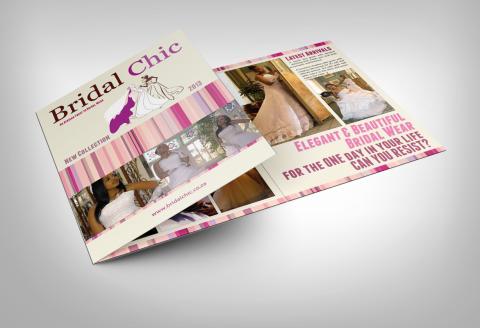 Tri-Fold Brochure - Bridal Chic