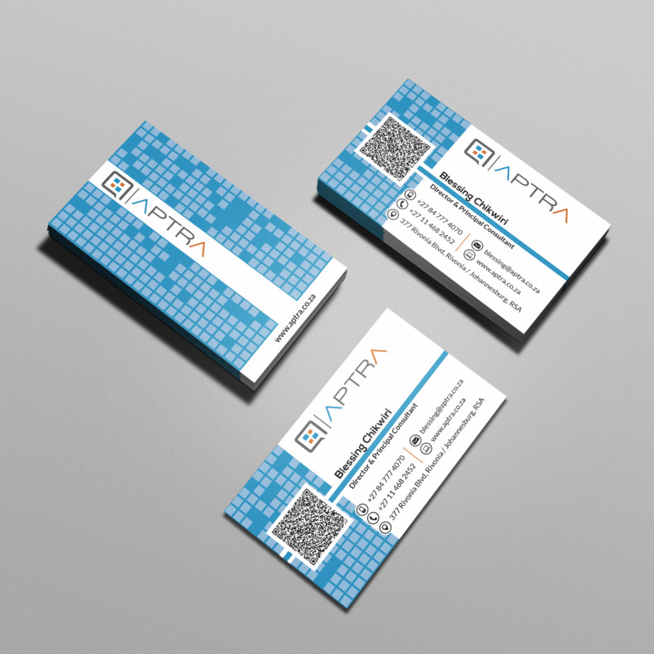 Aptra (Pty) Ltd - Business Cards