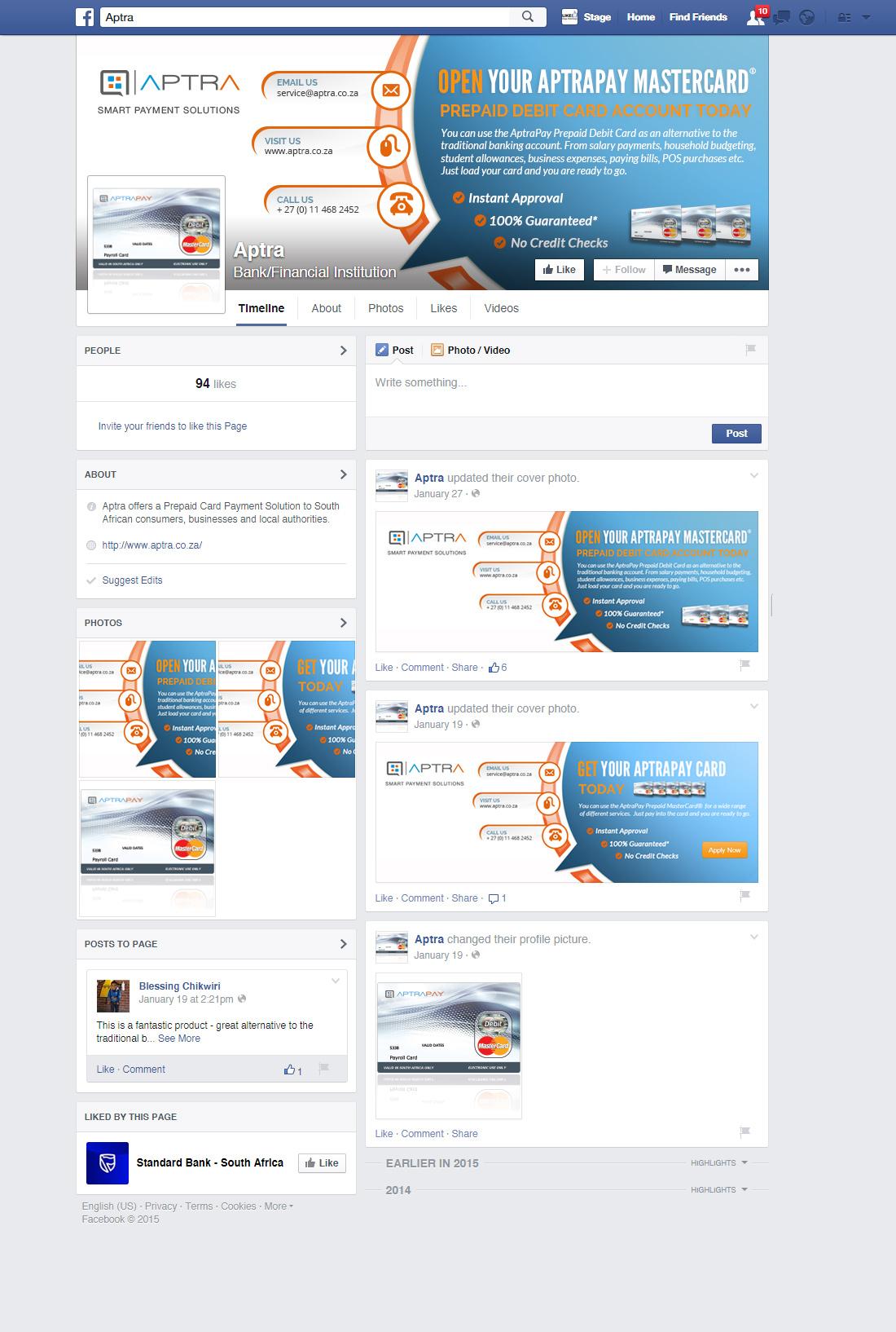 Aptra - Corporate Website - Internet Services